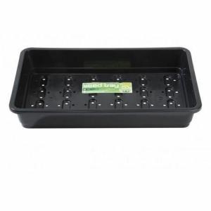Premium Seed Tray Holes Black 58cm