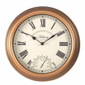 Astbury Clock with Thermometer
