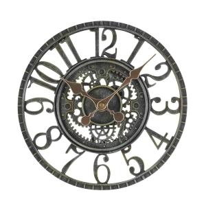 Newby Mechanical Clock Verdigris