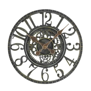 Newby Mechanical Clock Verdigris