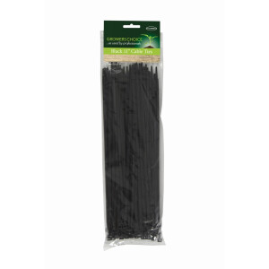 Black Cable Ties 100pk 11″